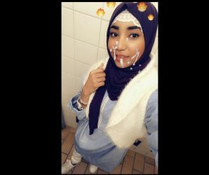 Arabic babe with cum on her face creation