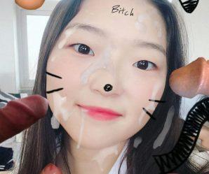 More cumshots on hot Korean chick