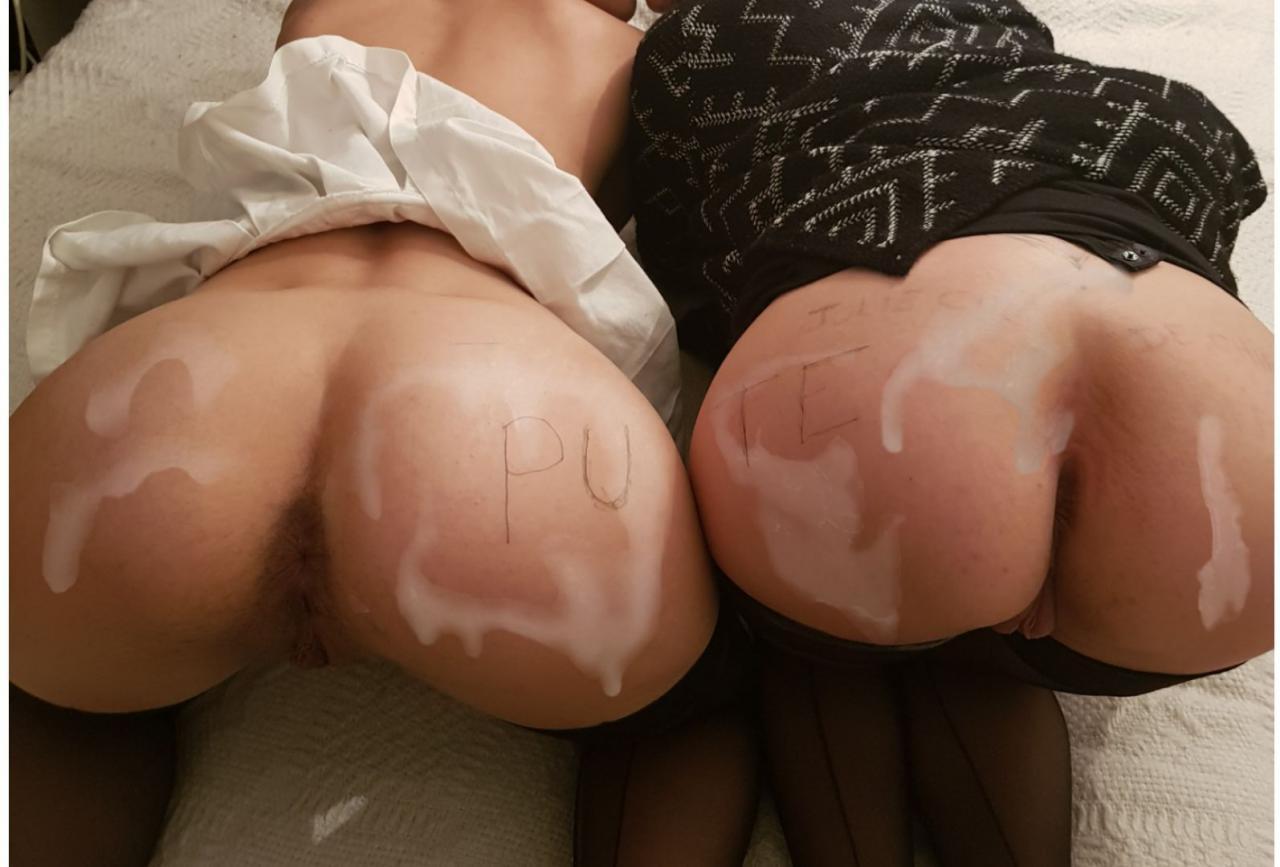 sexy ass cum