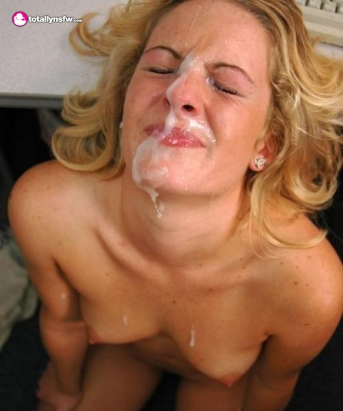 Milf reluctant to take cum facial