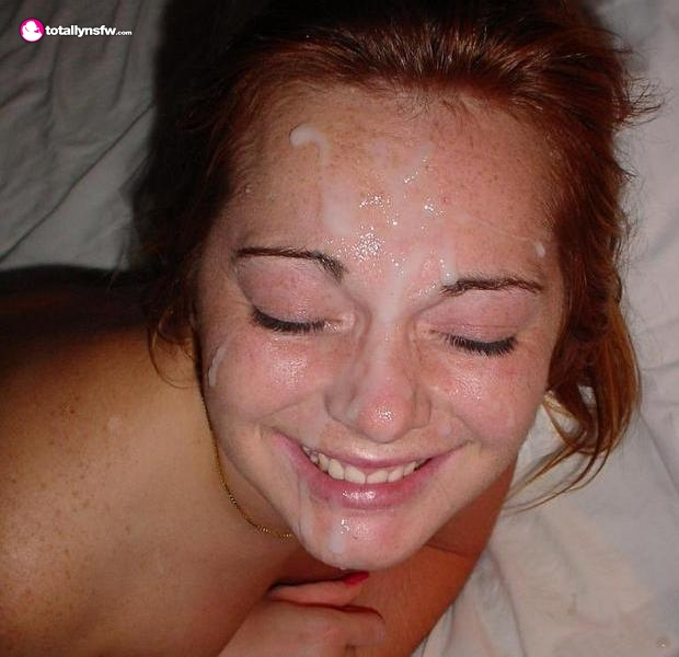 Redhead looks great with a facial