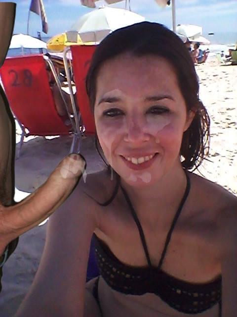Slut At The Beach
