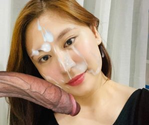 Pretty asian girl loves the big cock