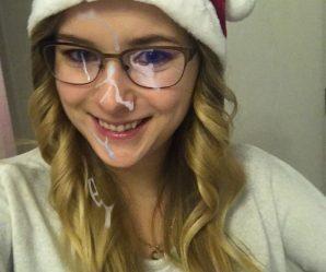 Slutty christmas babe